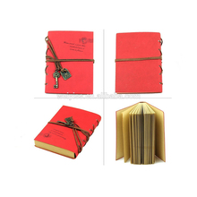 Luxury Classic Ancient Custom Embossed Pu Leather Diary Jounary Notebook
