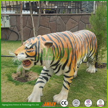 Animated Animatronic Tiger for Museum Education Exhibition