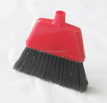 HQ8891 plastic dust pan and hair cleaning brush factory USA supermarket angle broom