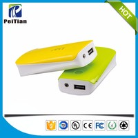 Hot products 5600mah external battery charger portable power bank