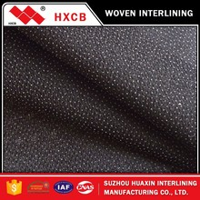 (3410)popular products for men's suits twill woven fusible interlinings polyester woven fabric