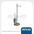 Stainless steel standing toilet set with paper holder in reasonable price