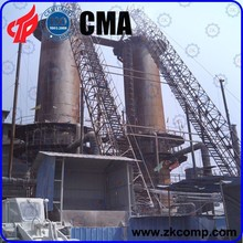 Vertical Shaft Kiln for calcination of 300 Mt lime