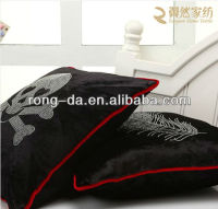 Skull Hot Drill Flannelette Cushion