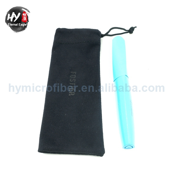 Hot selling Drawstring Microfiber Pen Bag