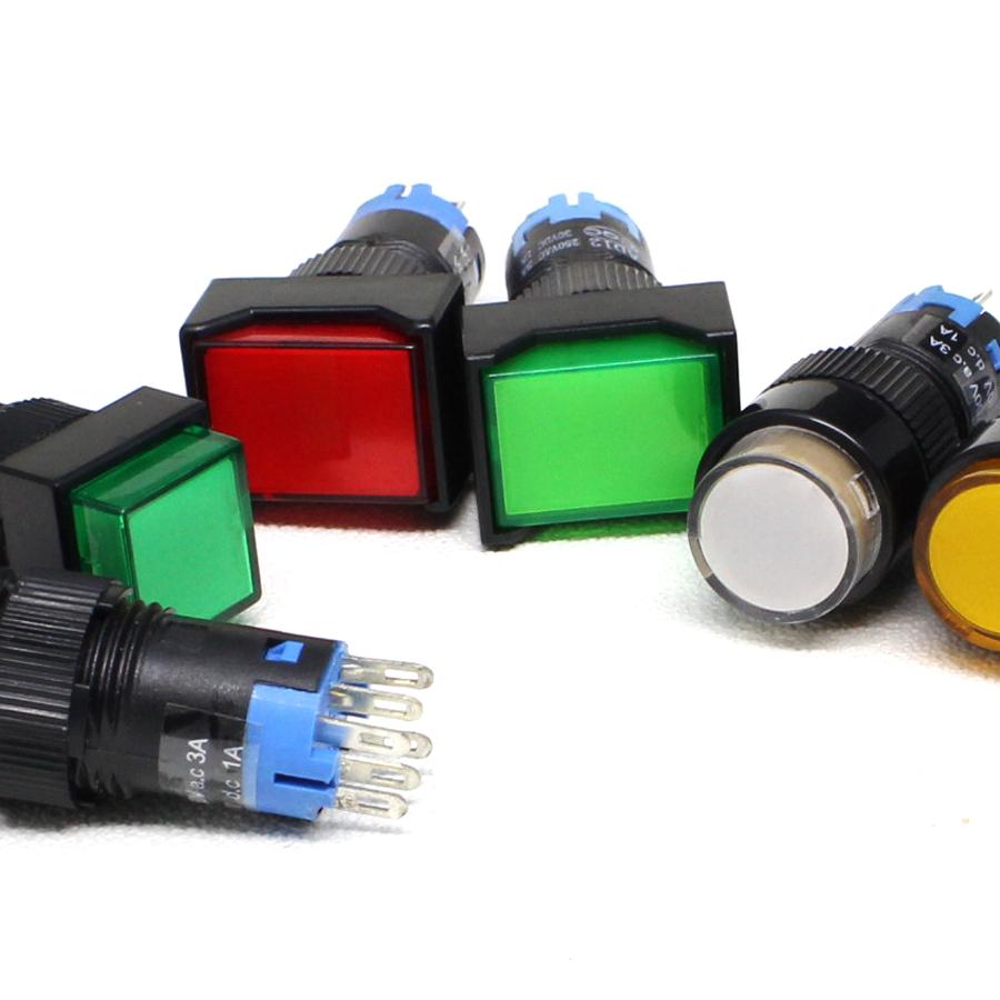 3a 220v Push Button Switch Automotive Push Button Switches