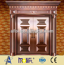 AFOL copper entry doors copper door canopy