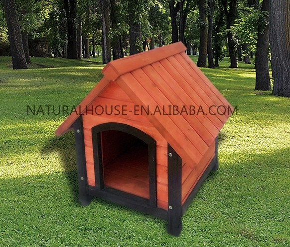 New lovely wooden dog house, wholesale dog kennel