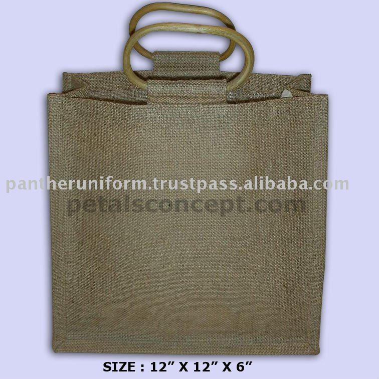 Manufacturer & exporter of Jute with wooden cane handle