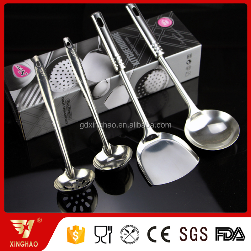 Factory direct stainless steel kitchenware small kitchen utensils