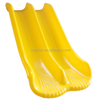 Rotation moulded HDPE slide 'Double sea shell '
