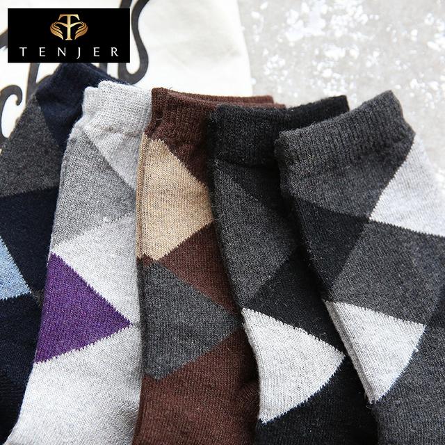 Wholesale sporty style multi-diamond men cartoon fashion terry socks