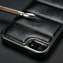 For apples iphone 5s phonecase , attractive quality fashion snake leather smart case for iphone 5s
