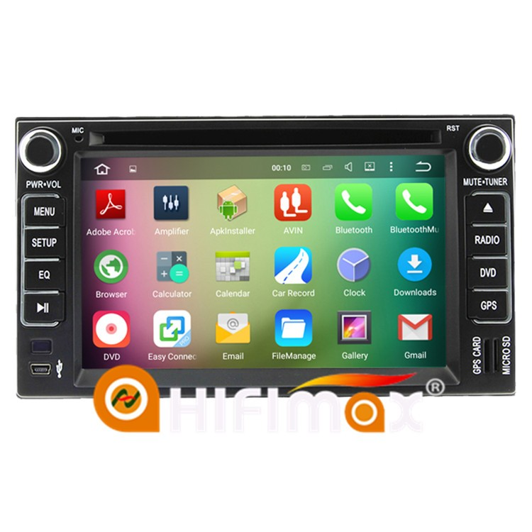 HIFIMAX Android 5.1.1 car radio dvd gps navigation system for Kia sedona,carnival(2006-2011) for Kia universal car dvd gps