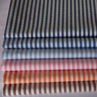 Yarn Dyed Stripe Egyptian Cotton Poplin Shirt Fabric