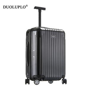 ABC + PC material luggage with 360 degree spinner wheels trolley luggage