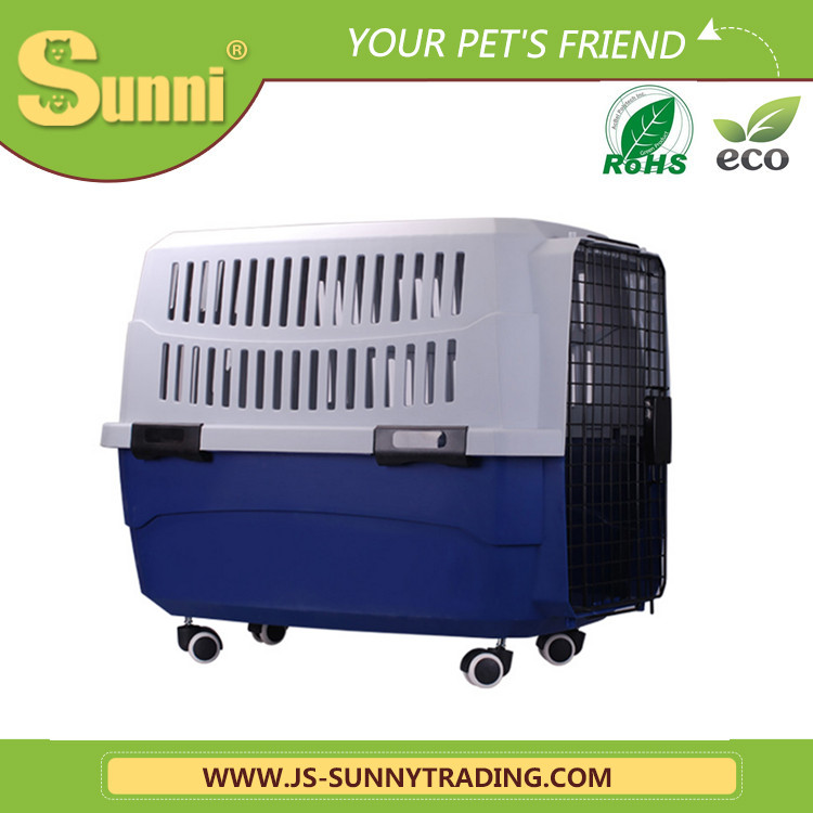 Dog transport cage outdoor plastic dog house