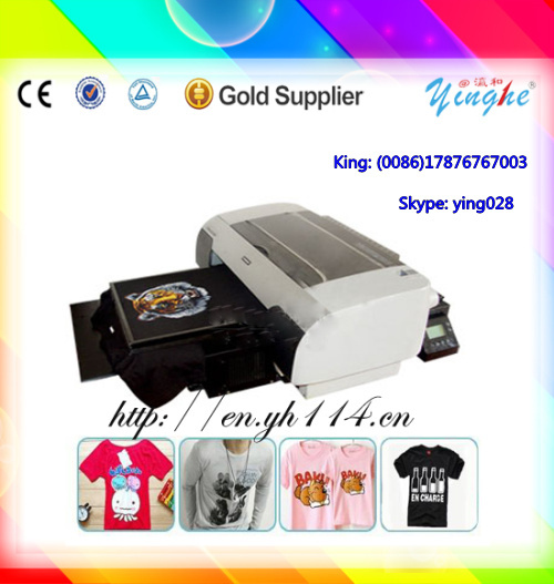 best quality and perfect result and hot sale used digital tshirt printer with lowest price