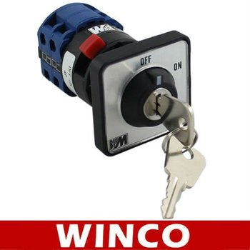 Bigm selector switch LW26-20 4P OFF-ON