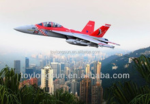 Sea shipping wholesale good price F18 rc jet airplane