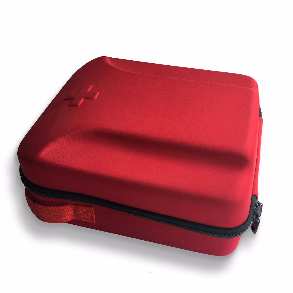 Red Hard Eva First Aid Case for Doctor
