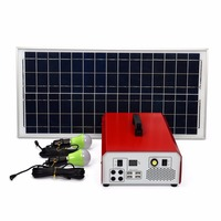 500W 1KW 2KW complete off grid solar system for home appliances outdoor power supply