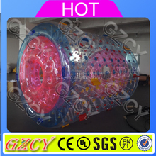 Inflatable wheel water roller ball, inflatable walking roller drum roller