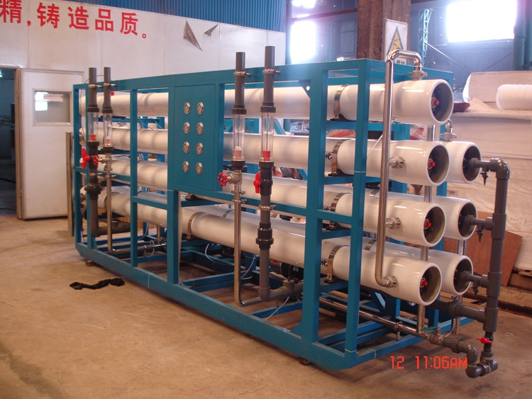 Reverse Osmosis Sea Salt Water Purification System Machine Treatment Equipment Execution Of Works