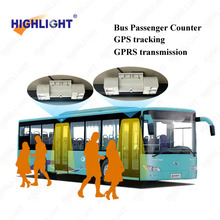 2016 Highlight HPC086 IR people counting system bus passenger counter for public car