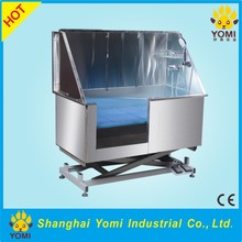 Highest quality fixed foot pet grooming bathtub for dogs