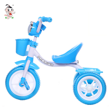 Made in china durable in use children tricycle singapore tricycle baby stroller baby trike play toy with music light
