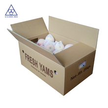 Hard cardboard paper fruit box , box for fruit