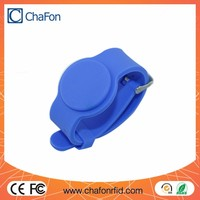 125khz rfid silicone wristband tags watch clasp type support logo printing and color optional