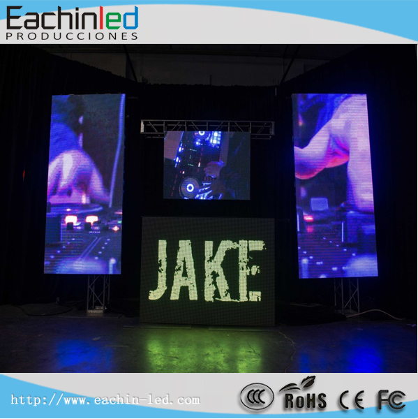 Full color Aluminum P6 led portable screen for stage backdrop/events rental