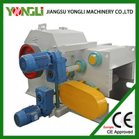 PLC controlled wood chopping machine with CE approval