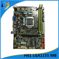 2016 new model h61 ddr3 socket1155 computer mainboard