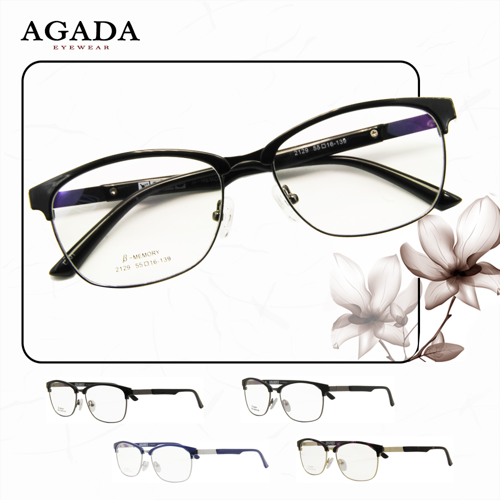 Popular Design Hot selling eyewear tr 90 buffalo horn eyeglasses frames