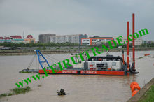 river sand cutter suction dredging machine
