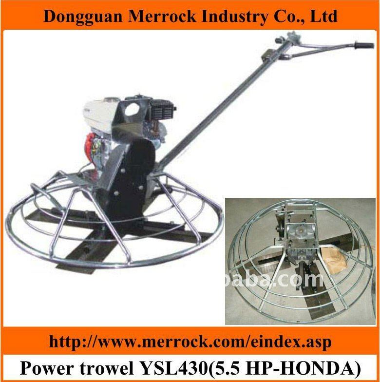 concrete power trowel machine for wet concrete