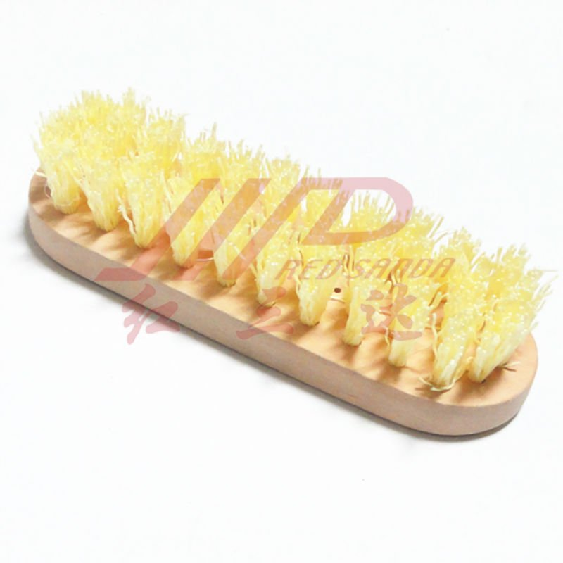 wooden floor cleaning brush