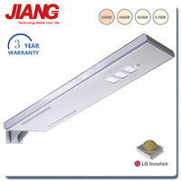 China Supplier Solar Panels Price List 3 Years Warranty 50W 6000K LED Street Light
