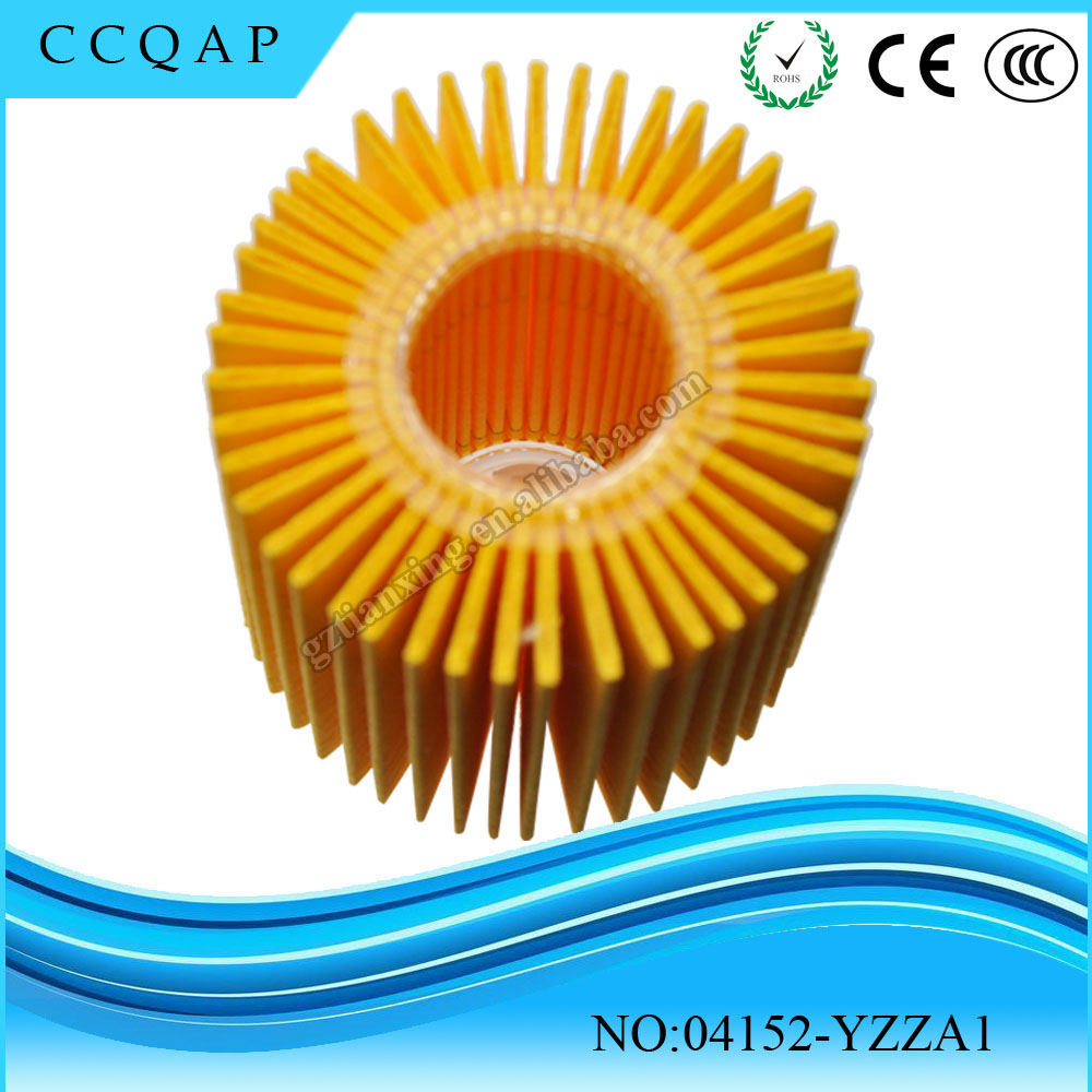 Buy new types of genuine brand new automobile manufacturers China toyota oil filter 04152-YZZA1