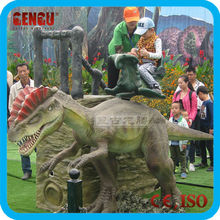 Amusement Dinosaur Ride Scale Model Animal