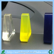 Triangular prism pu mobile phone support to support mobile phone