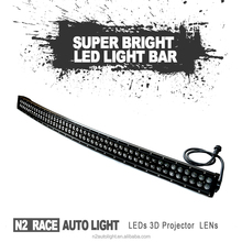 Best supplier 4X4 accesories New design wholesale IP67 20 inch 126 4wd offroad 4D dual row led driving light bars