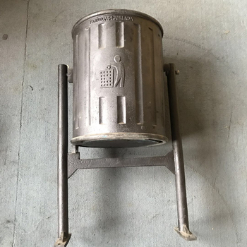 Cast Iron Thrash bin As Clean Tools For Envionment Protect