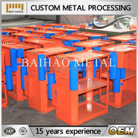 custom high quality bending / welding / punching metal case
