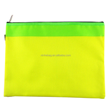 A4 size double color split joint non woven document bag