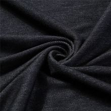 Hot selling new design high quality knitted denim stretch fabric