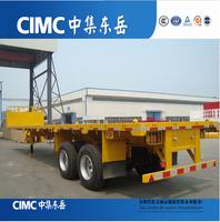 CIMC Tandem Axle Flatbed Trailer For Sale